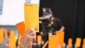 Conferència d'ERC: entre l'antic i el nou