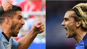 Luis Suárez y Antoine Griezmann, sentimientos cruzados en Rusia.
