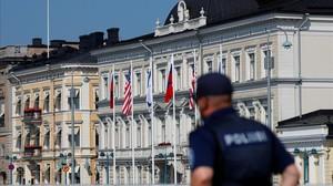 Palacio presidencial de Helsinki.