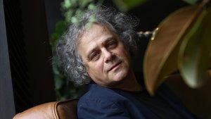 El escritor y dramaturgo húngaro András Forgách, este viernes en Barcelona.