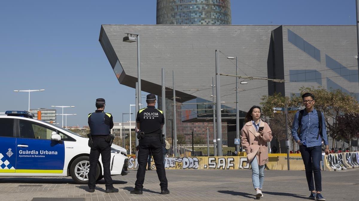 El edificio del Disseny Hub de Glòries.