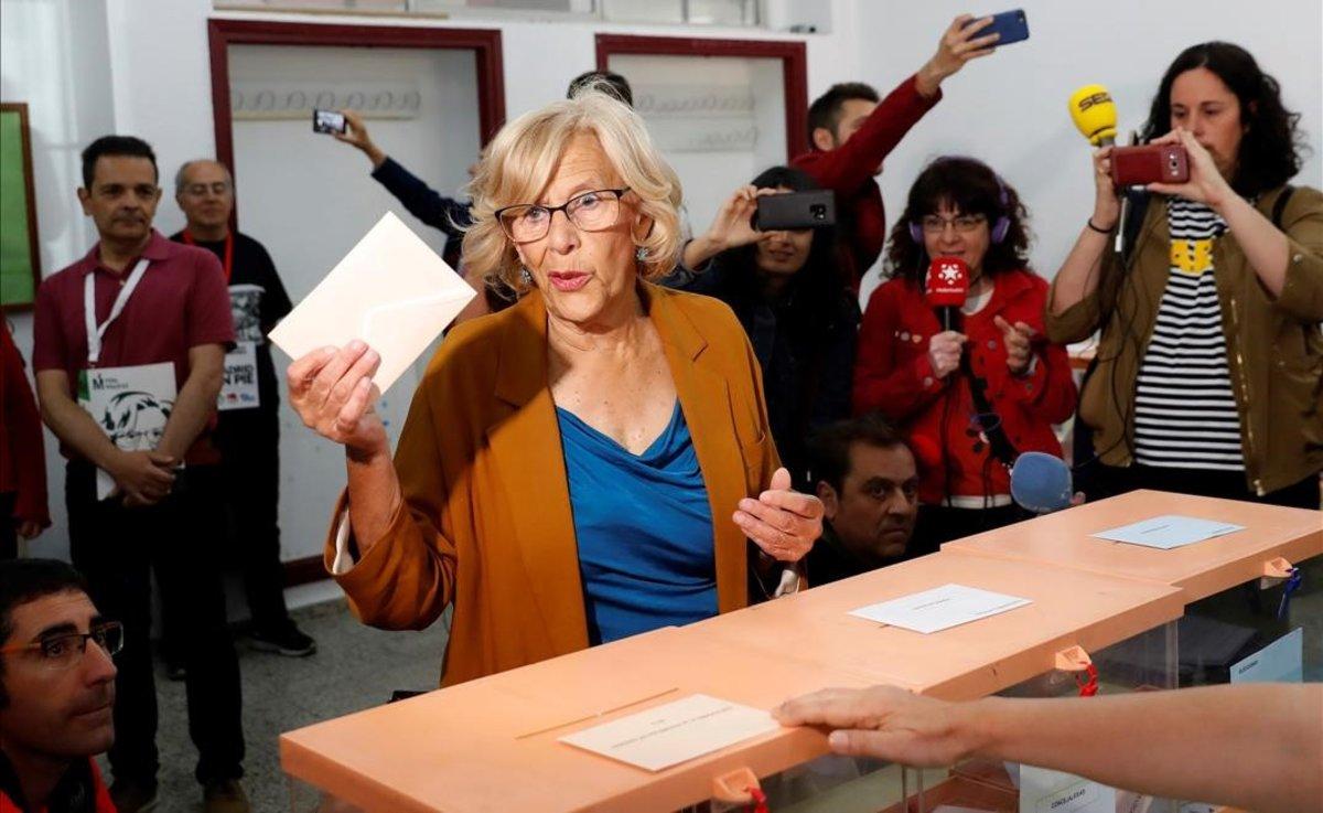 Madrid: Carmena perd l'alcaldia i el PP manté la Comunitat