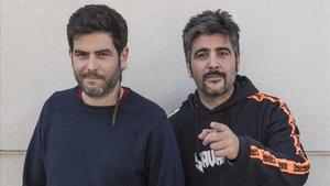 Los hermanos Jose y David, el dúo Estopa, el pasado octubre.