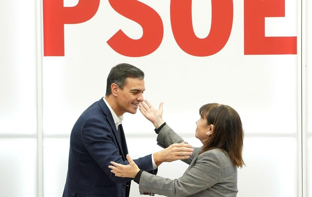 Agra victòria del PSOE