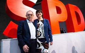 L'SPD assaja un gir a l'esquerra per combatre la irrellevància política