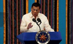 Duterte assegura que Putin regalarà a les Filipines la vacuna contra la Covid