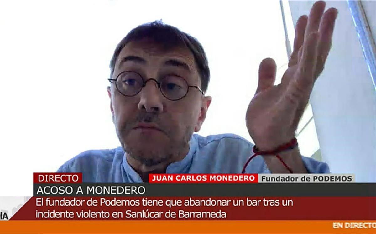 Juan Carlos Monedero en 'Cuatro Al Día'.