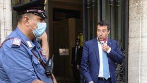 Salvini a un pas d'anar a judici pel bloqueig de l''Open Arms' fa un any