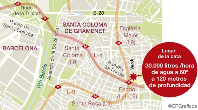 Santa Coloma Tiene Una Enorme Masa De Agua Termal En El Subsuelo