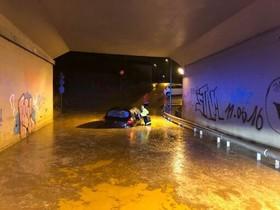 La inundación.
