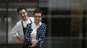 Carme Ruscalleda y su hijo, Raül Balam, que participarán en uno de los actos del programa.