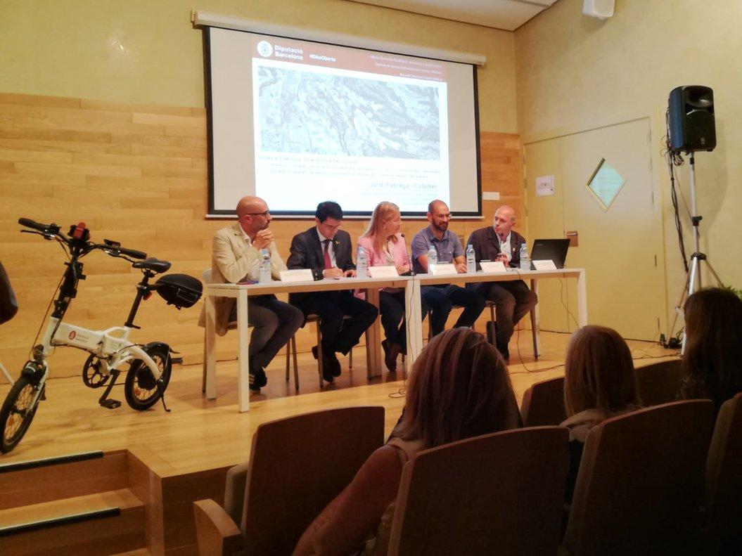 Un carril bici unirà Terrassa, Matadepera i Sabadell a finals del 2019