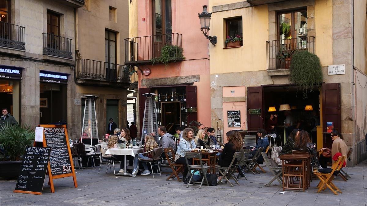 Barcelona Suma 70 Terrazas Nuevas En Ciutat Vella Desde El 2015