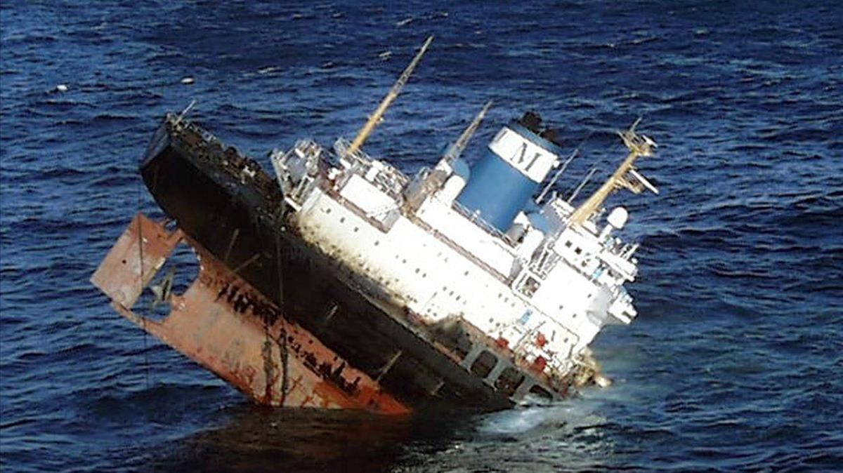 El accidente afectó a 2000 kilómetros de costa española, francesa y portuguesa.
