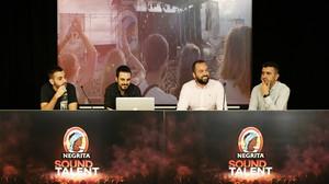 Acto de presentación del concurso Negrita Sound Talent.