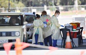 Las autoridades de Australia del Sur continúan con las pruebas para detectar el covid.