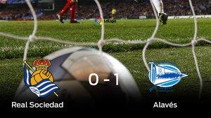 El Alavés vence 0-1 frente a la Real Sociedad