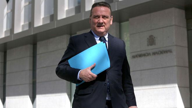 Alfredo Prada declara por el caso del Campus de la Justicia.