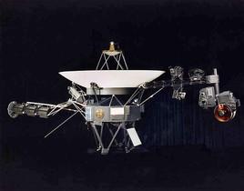 Una sonda Voyager en una imagen captada en el 2002.