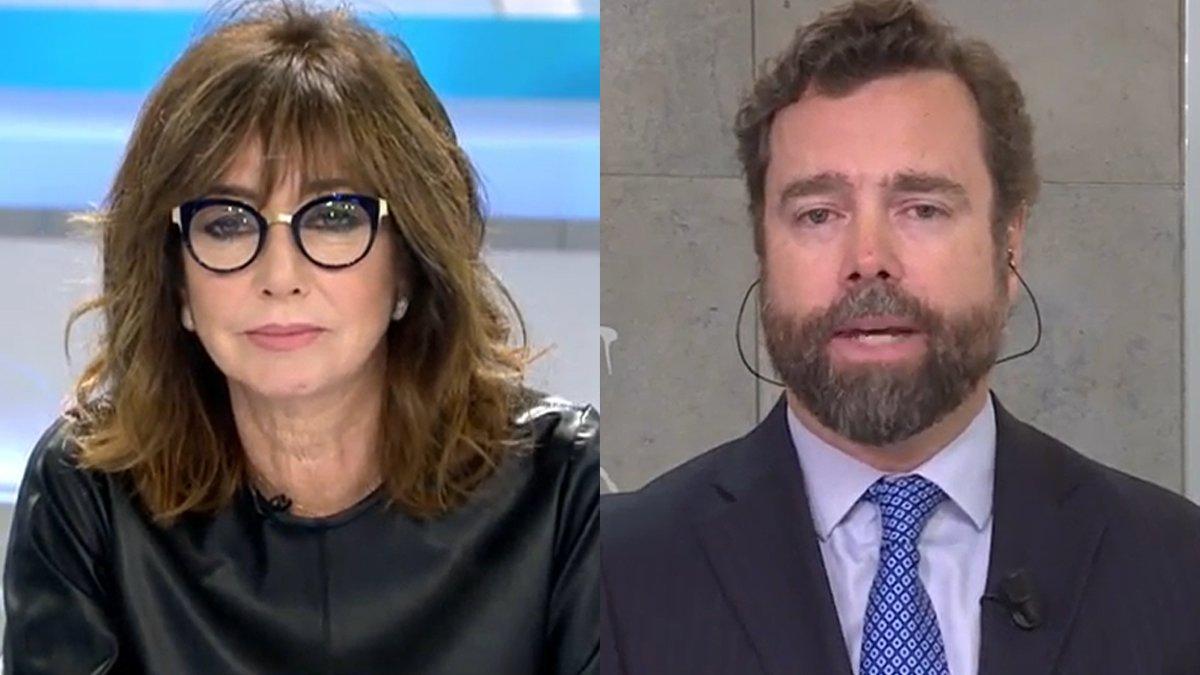 """Ana Rosa frena a Espinosa de los Monteros por llamar """"especímenes"""" a Unidas Podemos: """"Ahí se ha pasado"""""""