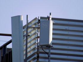 Antena 5G de Vodafone.