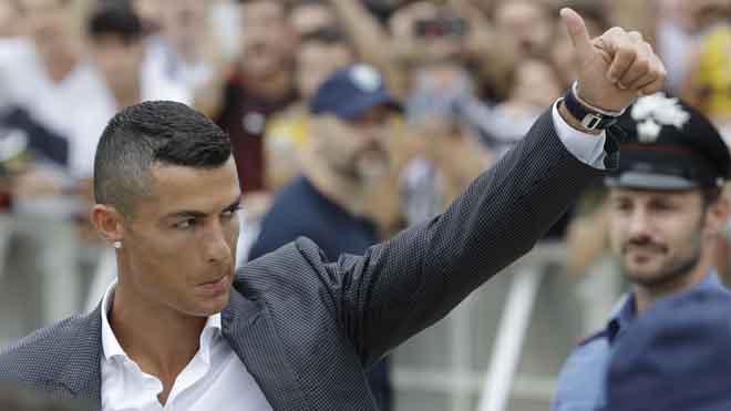 Hisenda accepta el pacte amb Ronaldo: 19 milions i dos anys de presó