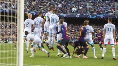 Messi se salta todas las barreras