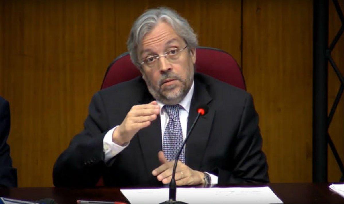 El exvocal de la JEC Andrés Betancor.