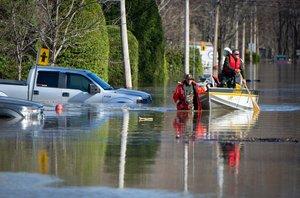Las inundaciones en Canadá han afectado a miles de hogares.