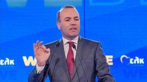 El candidato del PPE a las elecciones europeas, Manfred Weber.