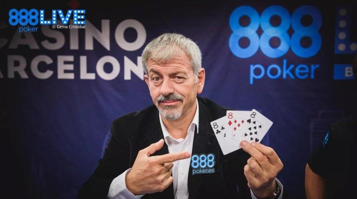 Carlos Sobera en una publicidad de 888.
