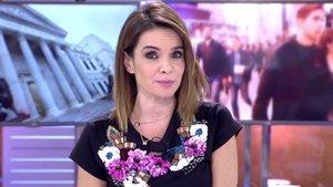 """Carme Chaparro muestra """"sus pelos"""" en la axila para criticar el ataque machista a Irene Montero"""