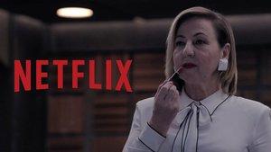 Carmen Machi en 'Criminal', la nueva serie de Netflix.