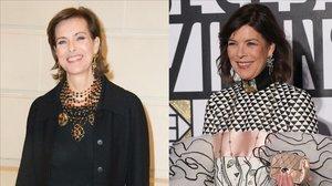 Carolina de Mónaco y Carole Bouquet anuncian el nacimiento de su nieto.