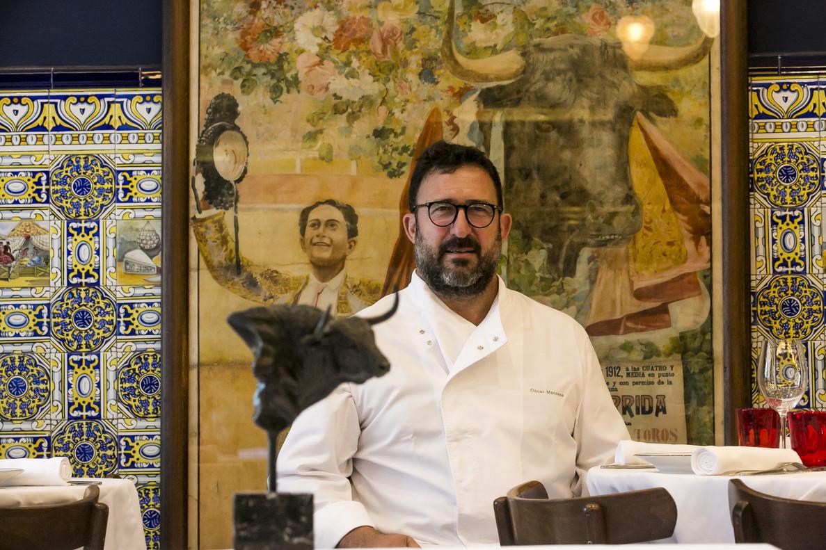 Òscar Manresa, uno de los propietarios del restaurante Casa Leopoldo.