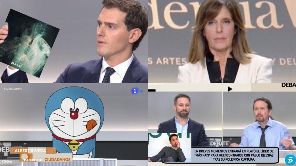 Els 50 millors mems del debat electoral del novembre del 2019