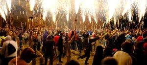 Corndefoc, en la fiesta mayor del Corpus de Cornellà