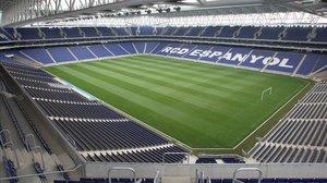 Aspecto del RCDE Stadium.