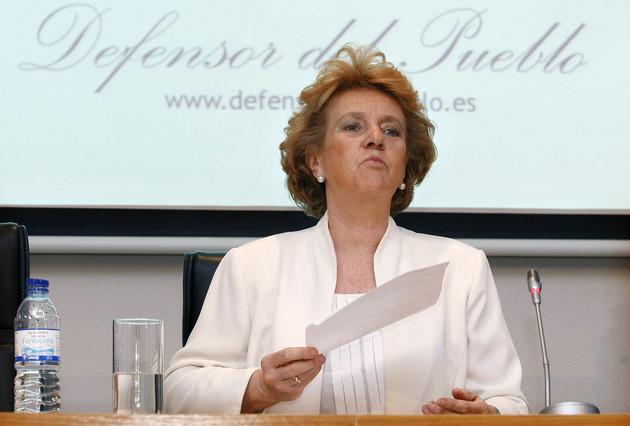 La Defensora del Pueblo, Soledad Becerril, el pasado julio en Madrid.