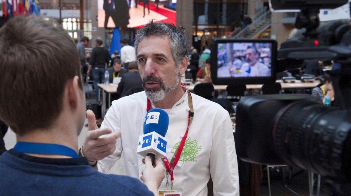 El cocinero pontevedrés Pepe Solla, en una imagen del 2016.