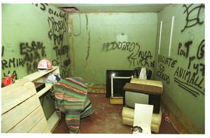 Así estaba el sótano, convertido en zulo, donde estuvo Quini retenido, en el 2001.