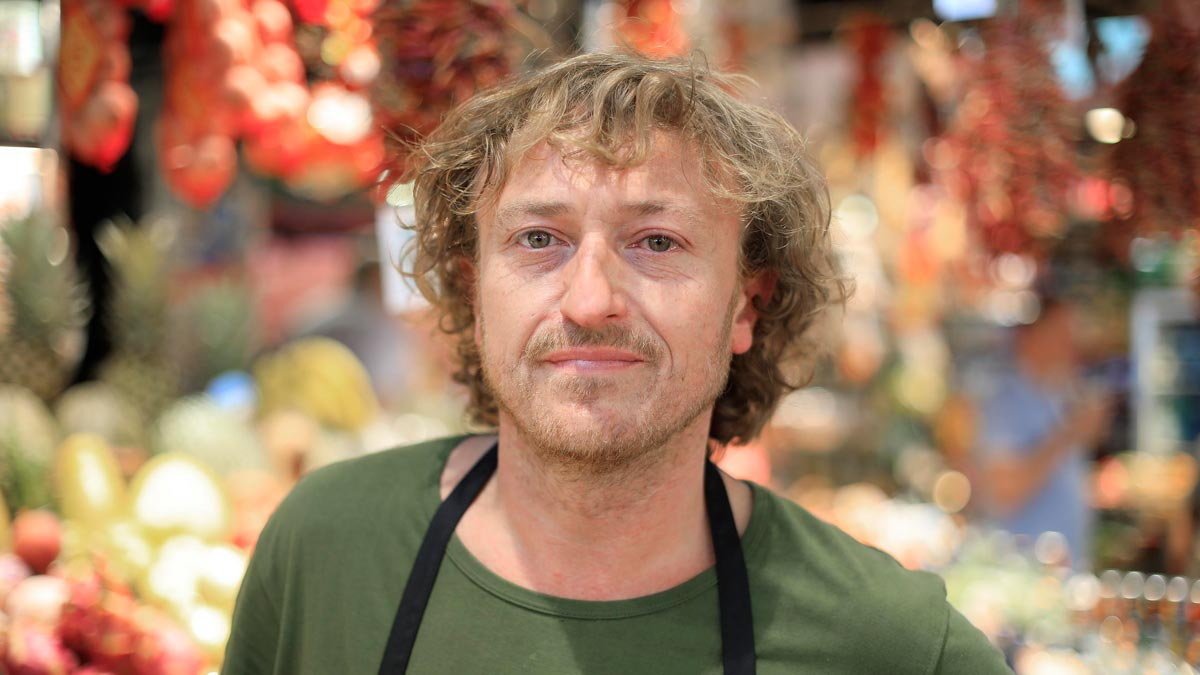 Entrevista a Jaume Soley, vendedor de frutas en La Boquería