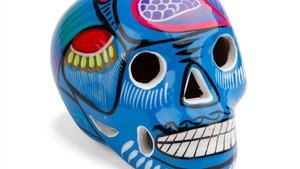 Una calavera mexicana que puedes encontrar en la tienda Fantastik.