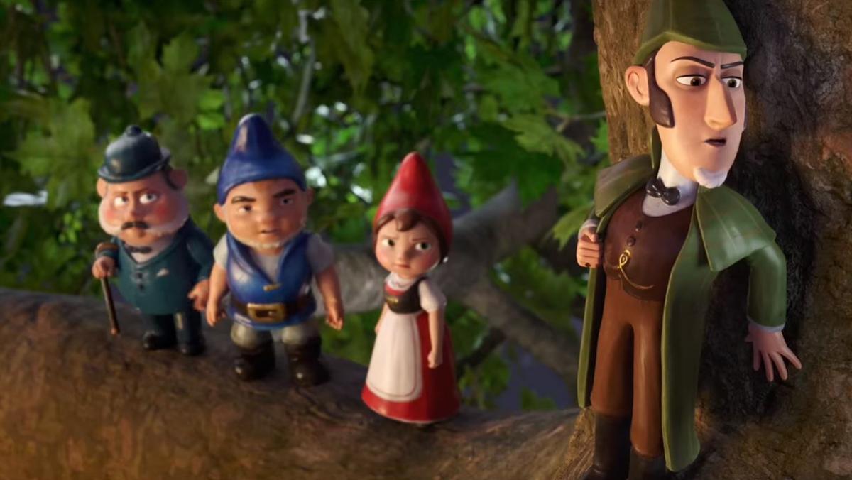 Tráiler de Sherlock Gnomes (2018)