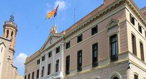 Fachada del Ayuntamiento de Sabadell.