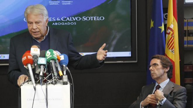 González y Aznarhan coincidido esta mañana en un acto para reclamar la libertad de los presos políticos venezolanos.