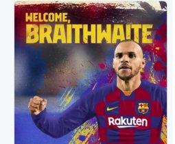El Barça anuncia el fitxatge de Braithwaite després de pagar els 18 milions de la seva clàusula