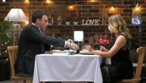 Sergi y Olga en 'First Dates'