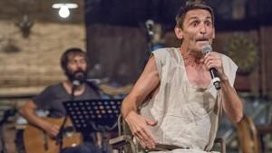 Enric Montefusco y Albert Pla en el Teatre Grec