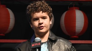 El actor Gaten Matarazzo.